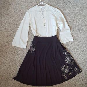 Soft, flowy cotton skirt